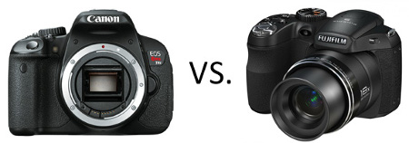 dslr vs bridge camera